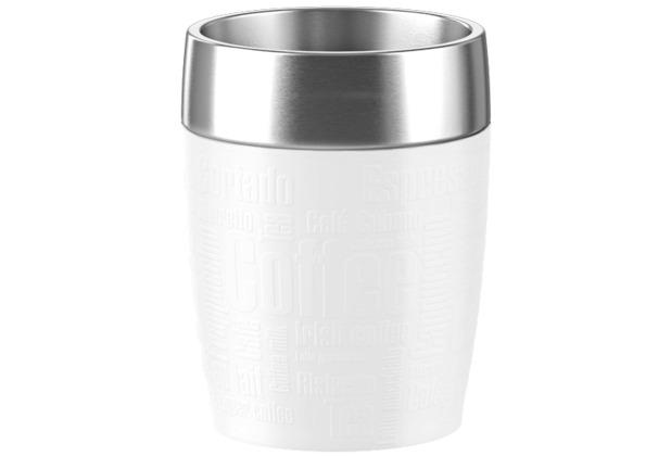 emsa Isolierbecher TRAVEL CUP, Weiß, 0,20 Liter