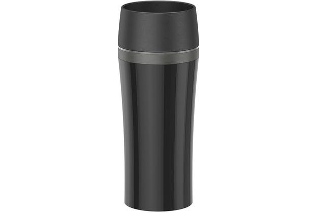 emsa Isolierbecher TRAVEL MUG Fun, schwarz-anthrazit, 0,36 Liter