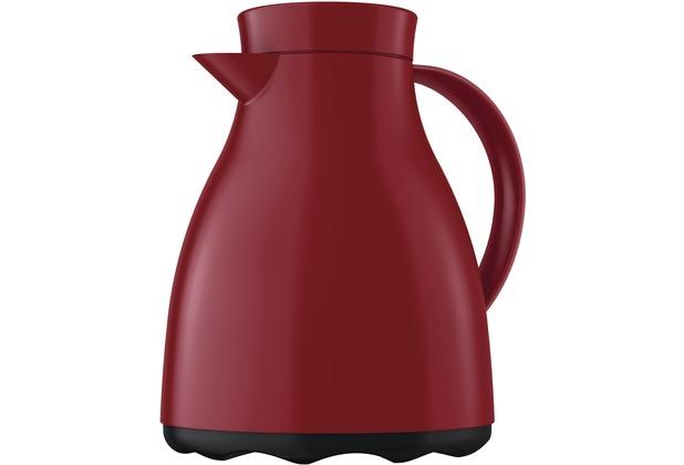 emsa Isolierkanne EASY CLEAN, Aubergine-Rot, 1,00 Liter