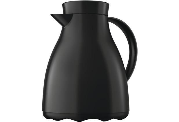 emsa Isolierkanne EASY CLEAN, Tiefschwarz, 1,00 Liter