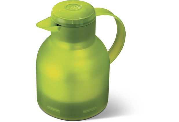 emsa Isolierkanne SAMBA, Transluzent Hellgrün, 1,00 Liter, QuickPress
