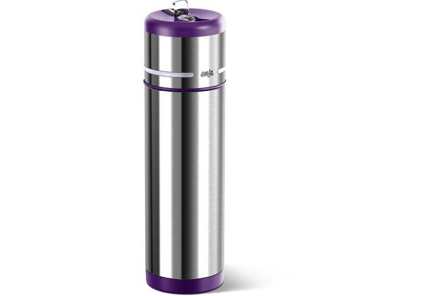 emsa Isoliertrinkflasche MOBILITY, Brombeer-Hellviolett, 0,50 Liter
