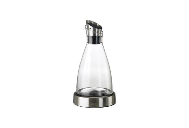 emsa Kühlkaraffe FLOW Karaffe Glas/Edelstahl, 1,00 Liter