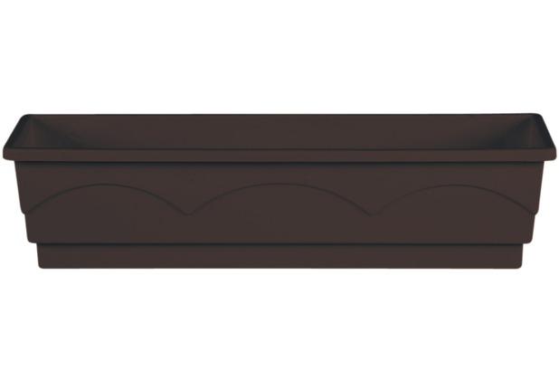 emsa Blumenkasten LAGO, Dunkelbraun, 75 x 22 x 18 cm