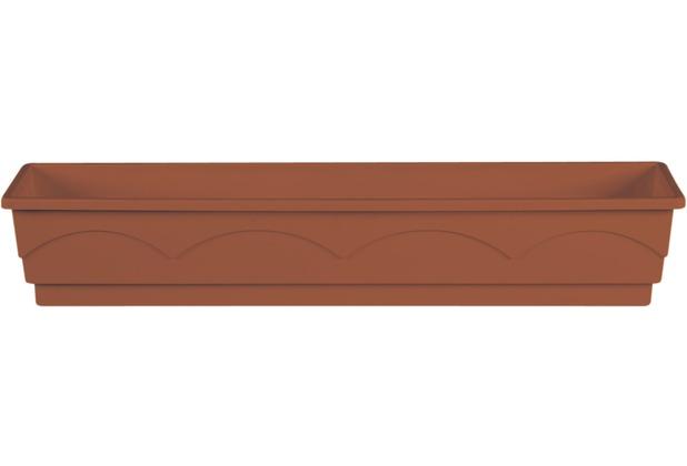 emsa Blumenkasten LAGO, Terrakotta, 100 x 22 x 18 cm