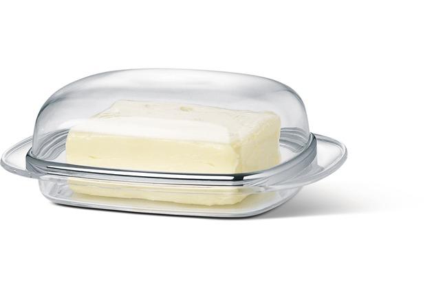 emsa Manhattan Butterdose, transparent-chrom