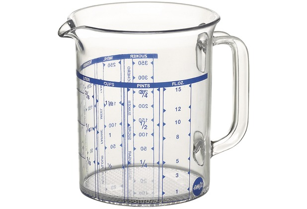 emsa Maßkanne SUPERLINE, Transparent, 0,50 Liter