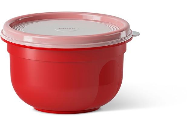 emsa SUPERLINE Colour rund/hoch 0,6 L rot