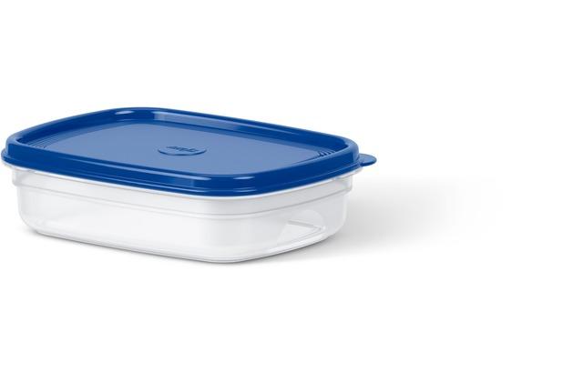 emsa SUPERLINE Frischhaltedose eckig 1,0 L blau