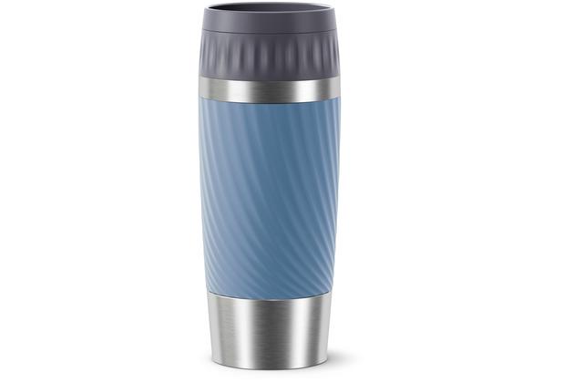 emsa Travel Mug Easy Twist 0,36L blau wasserblau
