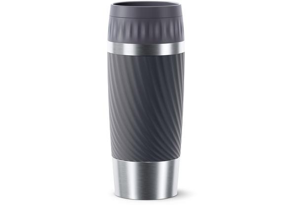emsa Travel Mug Easy Twist 0,36L grau Anthrazit