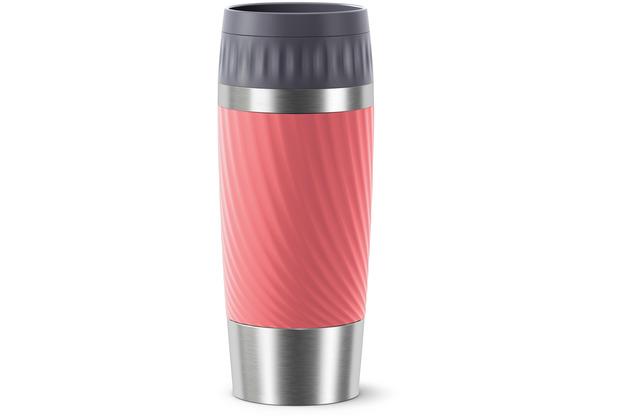 emsa Travel Mug Easy Twist 0,36L rot Living Coral