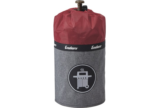 Enders 5 kg Gasflaschenhülle STYLE red
