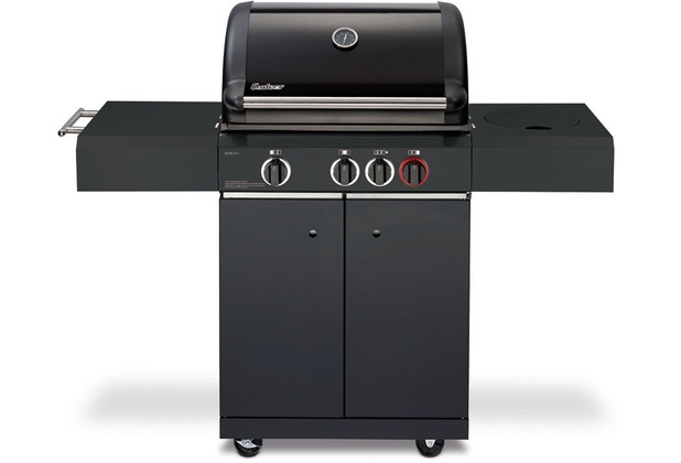 enders gasgrill kansas black 3 k turbo ebay. Black Bedroom Furniture Sets. Home Design Ideas