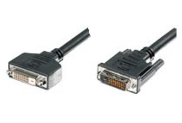 Equip DVI-D DualLink Verlängerungskabel 2x24+1 St./Bu. 1,8m