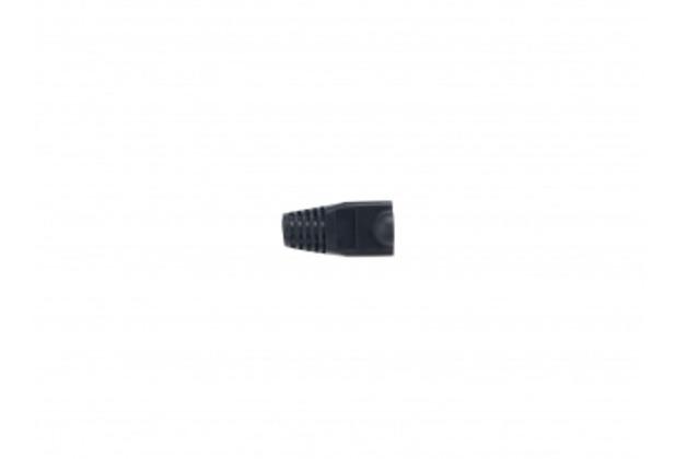 Equip Kabelschuh für RJ45-Stecker, schwarz, 100 Stück