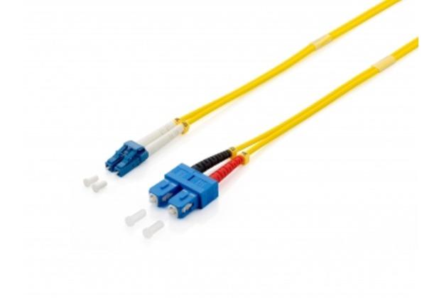Equip LWL Patchkabel LC/SC 9/125µm duplex 5,0m