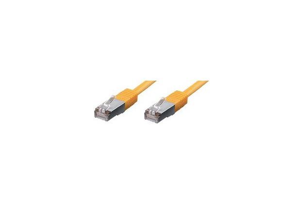 Equip Patchkabel 1,0m gelb-2xRJ45 S/STP-C6 250MHz