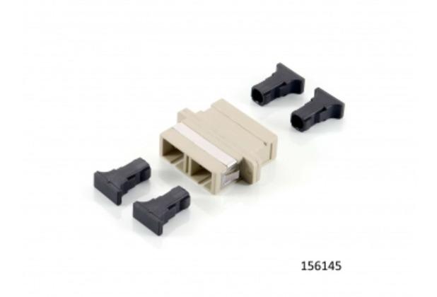 Equip SC Adapter/Kuppler Multi-Mode duplex (12 Stück)