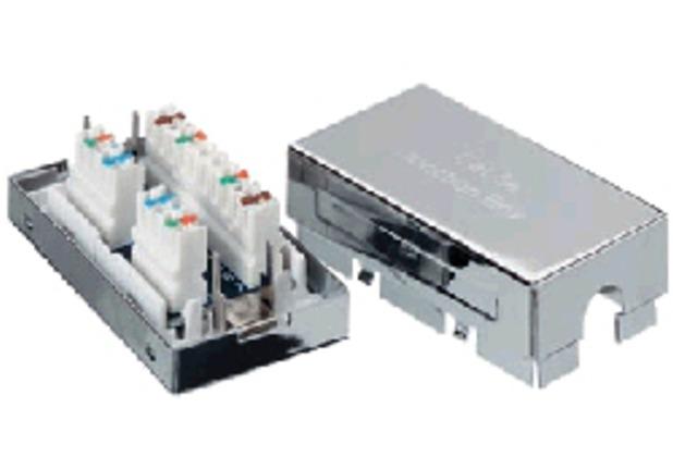 Equip Verbindungsmodul 8-polig geschirmt Cat.6