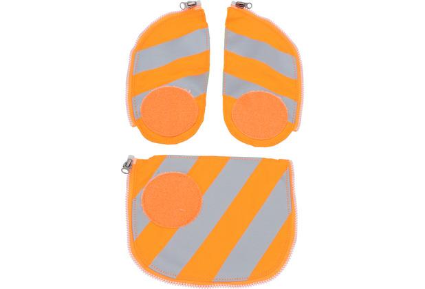 ergobag Pack/Cubo/ Cubo Light Sicherheitsset 3tlg. orange orange