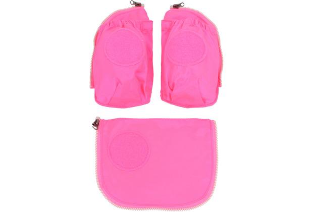 ergobag Pack/Cubo/ Cubo Light Sicherheitsset 3tlg. pink pink