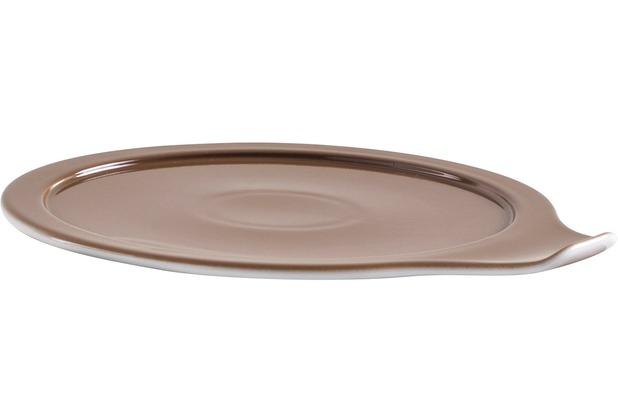 Eschenbach Porzellan COOK&SERVE Deckel für Kasserolle 16 cm nougat