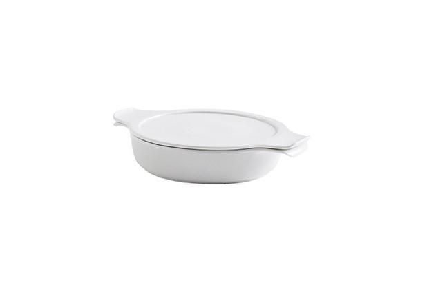 Eschenbach Porzellan COOK&SERVE Schale mit Deckel 0,30 l / 16 cm weiß