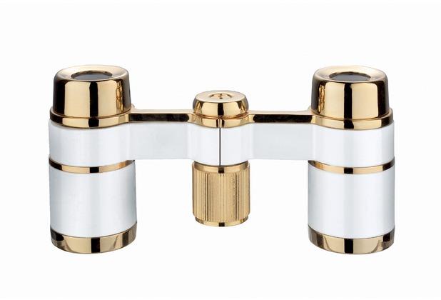 Eschenbach Optik ESCHENBACH Opernglas la scala perlenweiß-gold
