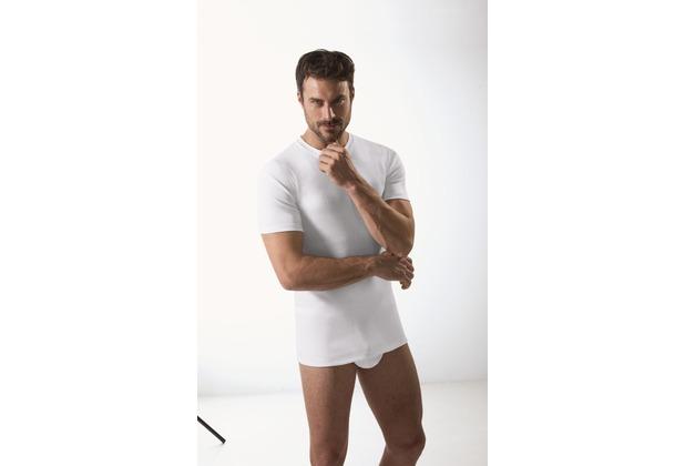 """ESGE Olympia Shirt Feinripp \""""Royal\"""" weiß 5"""