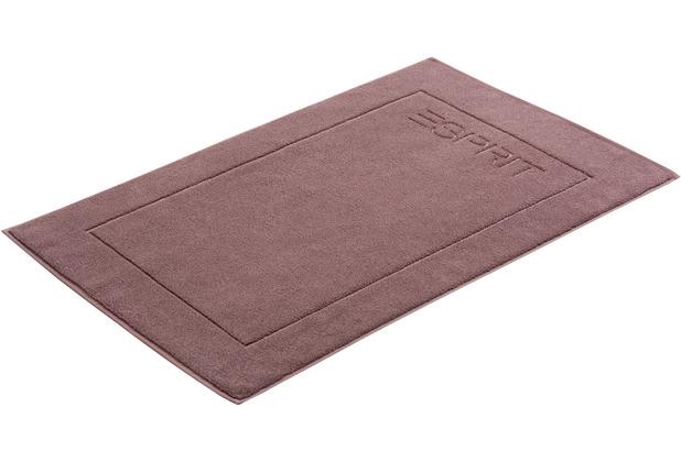 "ESPRIT Badeteppich \""Solid\"" dusty mauve 60 x 90 cm"
