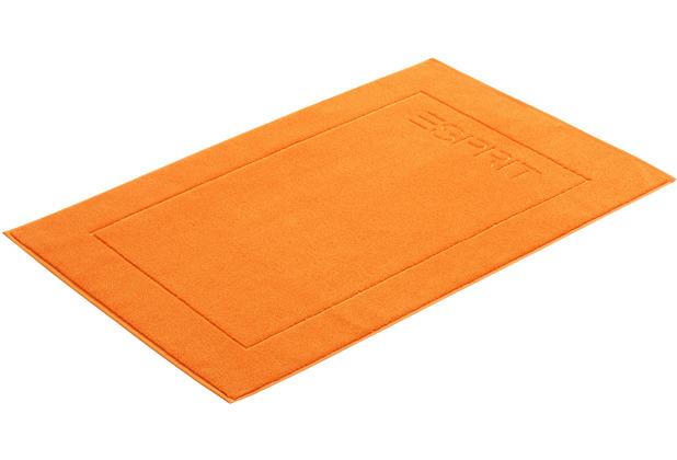 """ESPRIT Badeteppich \""""Solid\"""" mandarin 60 x 90 cm"""