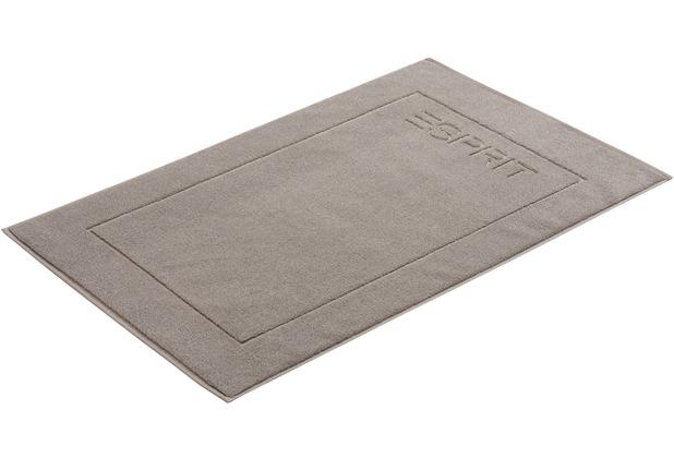 """ESPRIT Badeteppich \""""Solid\"""" stone 60 x 90 cm"""