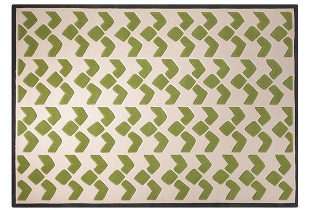 ESPRIT Teppich Bauhaus ESP-3632-01 grün 70 x 140 cm