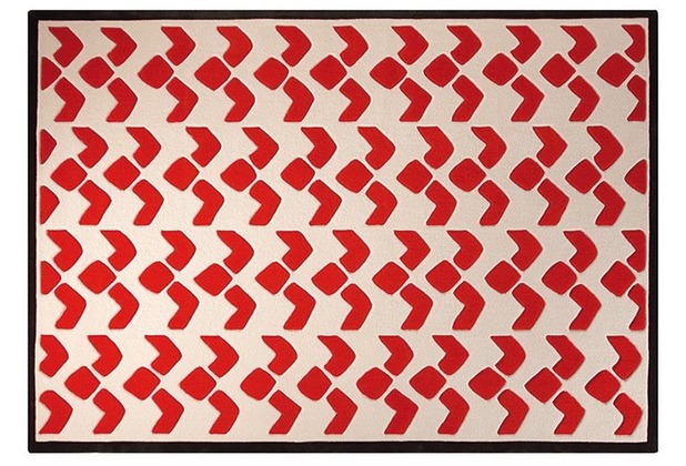 ESPRIT Teppich Bauhaus ESP-3632-02 terrakotta/orange 120 x 180 cm