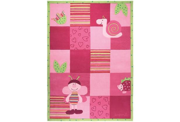 ESPRIT Kinderteppich Bee ESP-2844-01 rosa/pink 70 x 140 cm
