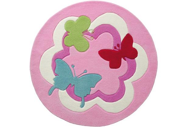ESPRIT Kinderteppich Butterfly Party ESP-3813-01 100cm x 100cm