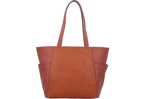 ESPRIT Carly Shopper Tasche 31 cm rust brown