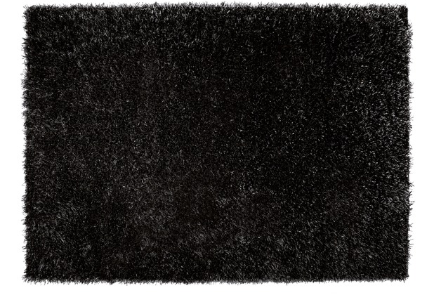 ESPRIT Hochflor-Teppich Cool Glamour ESP-9001-09 schwarz 70 x 140 cm