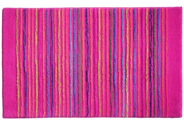 ESPRIT Badteppich Cool Stripes ESP-0232-05 rosa/pink 55 cm x 65 cm