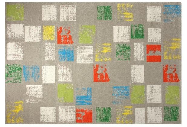 ESPRIT Teppich Cuadros ESP-8024-02 grau 133 x 200 cm