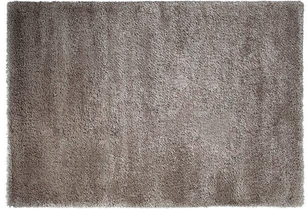 ESPRIT Hochflor-Teppich Freestyle ESP-8001-02 silber-braun 140 x 200 cm