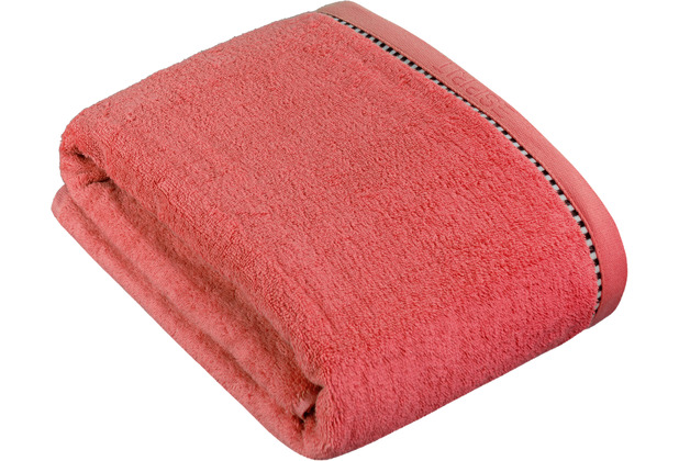 """ESPRIT Frottierserie \""""Box Solid\"""" coral Badetuch 100 x 150 cm"""