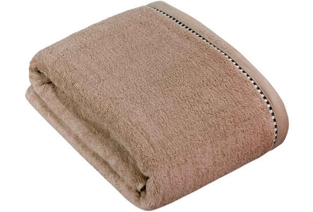"""ESPRIT Frottierserie \""""Box Solid\"""" mocca Badetuch 100 x 150 cm"""