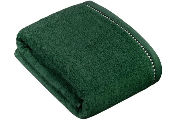 "ESPRIT Frottierserie \""Box Solid\"" moss green Badetuch 100 x 150 cm"