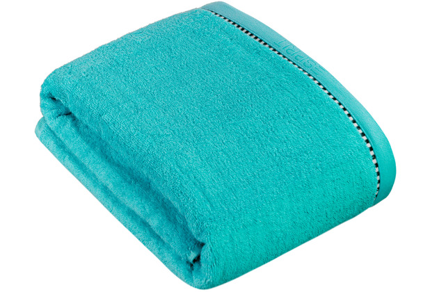 """ESPRIT Frottierserie \""""Box Solid\"""" turquoise Badetuch 100 x 150 cm"""