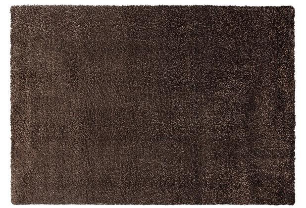 ESPRIT Hochflor-Teppich Cosy Glamour ESP-0400-85 braun 80 x 150 cm