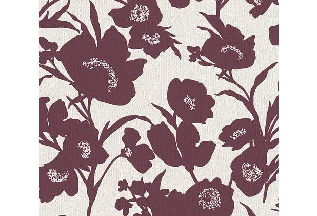 ESPRIT florale Mustertapete Fall in Love Vliestapete beige creme rot 10,05 m x 0,53 m