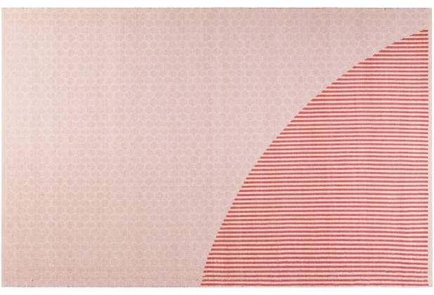 ESPRIT Kelim-Teppich East Atlanta Kelim ESP-6204-01 rosa 80x150 cm
