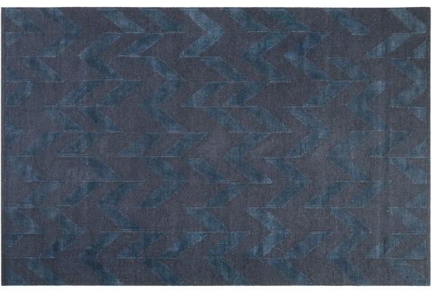ESPRIT Kelim-Teppich Feel4U Kelim ESP-6210-03 petrol 80x150 cm